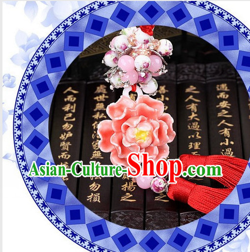 Chinese Hanfu Costumes Royal Jade Wearing Accessories