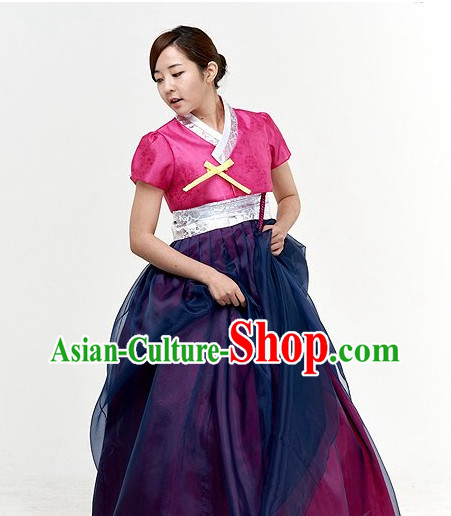 Top South Korean Modernized Hanbok Clothing Complete Set