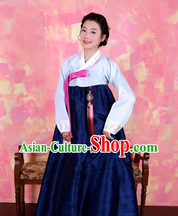 Korean Hanbok online Fashion Store Apparel Tops Korean Women Traditional Costumes Complete Set
