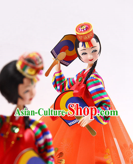 Korean Traditional Decorative Doll Arts