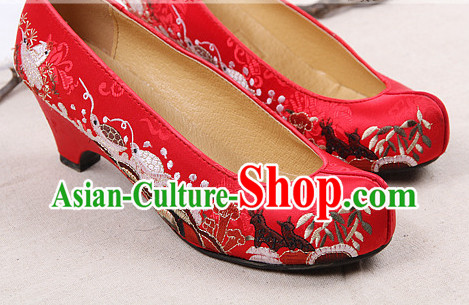 Korean Traditional Wedding Shoes for Brides