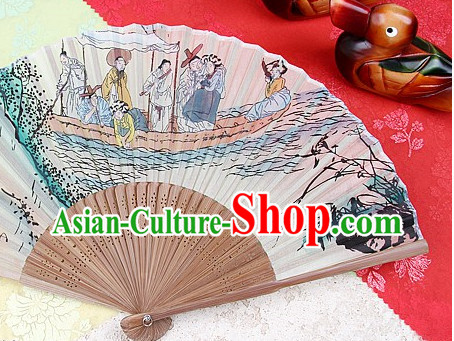 Korean Traditional Handmade Decoration Fan