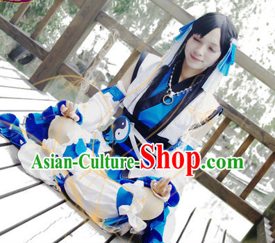 Chinese Costumes Traditional Clothing China Shop Taoist Nun Cosplay Costumes for Girls