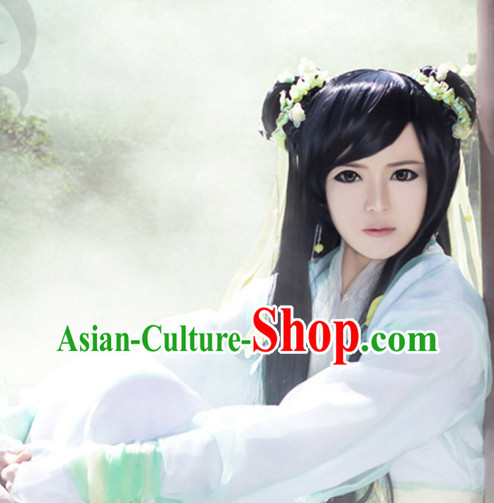 Chinese Costumes Traditional Clothing China Shop Asian Fashion Cute Girl Cosplay Halloween Costumes