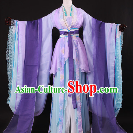 Chinese Female Hanfu Cosplay Halloween Costumes Carnival Costumes for Women