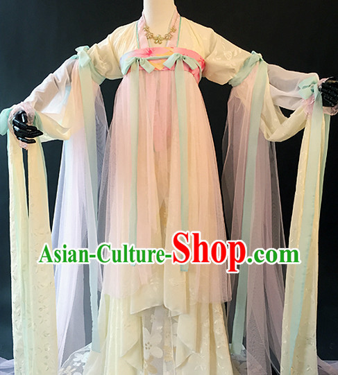 Chinese Lady Hanfu Cosplay Halloween Costumes Carnival Costumes for Women