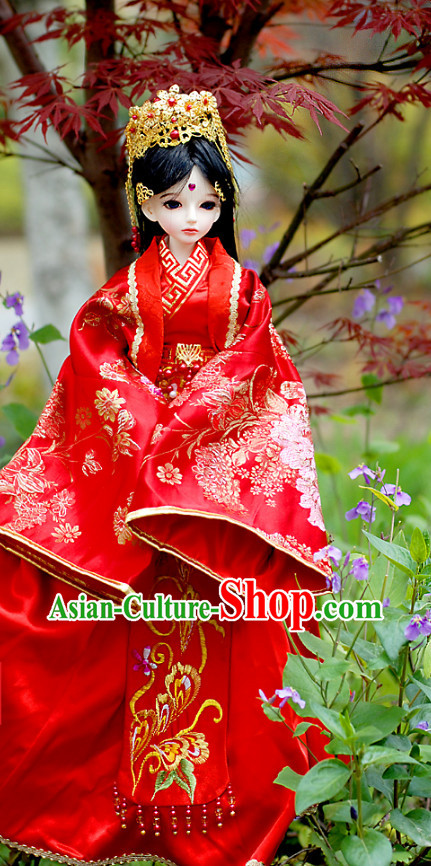 Chinese Costumes Asia fashion China Civilization Bridal Traditional Clothing Hair Accessories