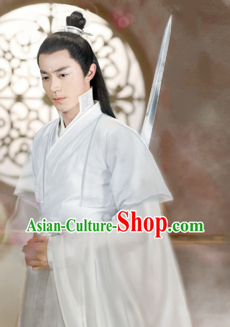 Chinese Costumes Asia fashion China Civilization Male Fairy Traditional Clothing Halloween Costumes