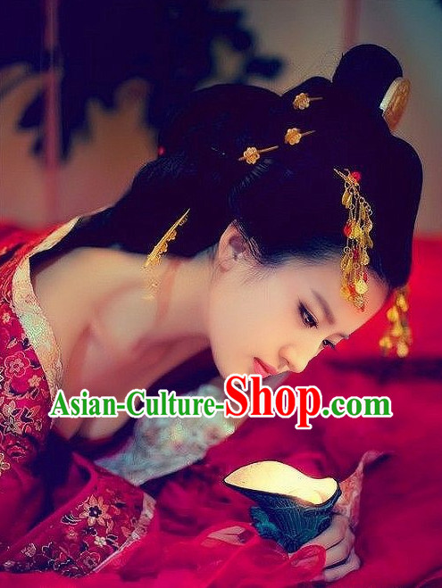 Chinese Traditional Style Wedding Hair Extension