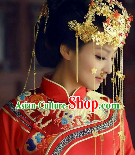 Chinese Traditional Style Wedding Hair Accessories
