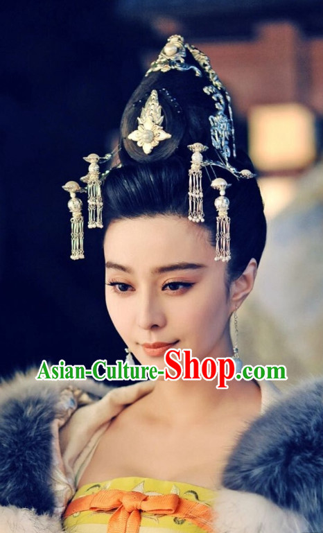 Chinese Traditional Empress Hair Extensions and Accessories