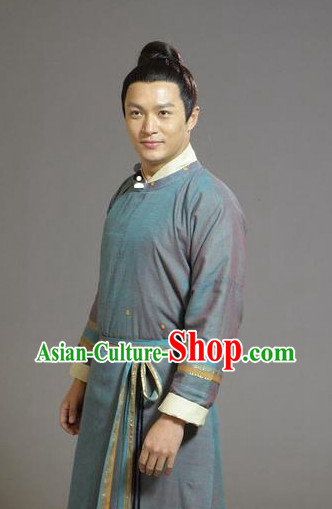 Chinese Hanfu Costume Asia fashion China Civilization for Men