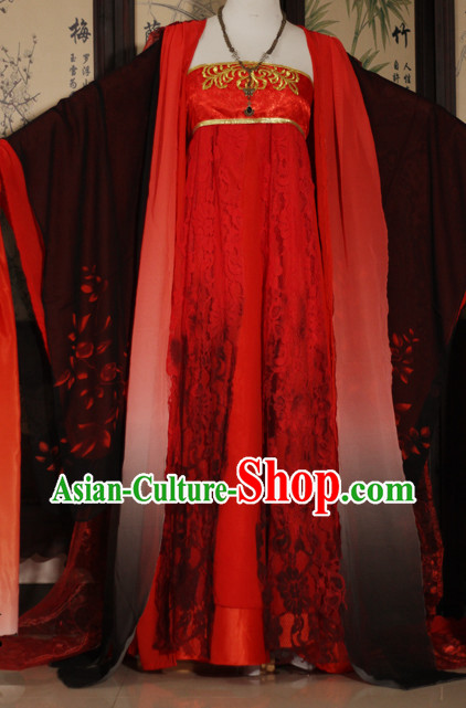 Asia Fashion Empress Cosplay Costumes Complete Set for Women