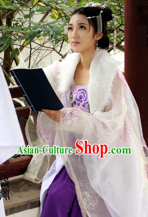 Chinese Princess Costume Asian Fashion China Civilization Medieval Costumes Carnival Costume