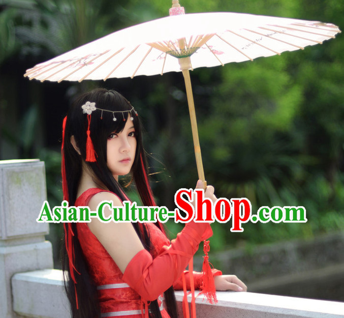 Chinese Costumes Asian Fashion Bridal Costume Complete Set for Women