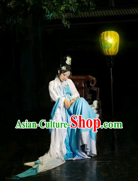 Asian Fashion Chinese Sexy Halloween Costumes Complete Set for Women