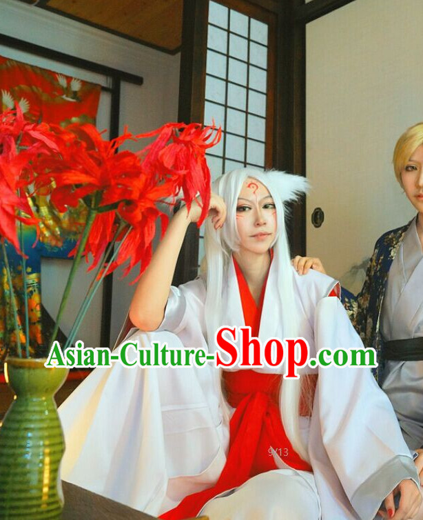 Asian Fashion Chinese Kimono Costumes Complete Set for Men or Women