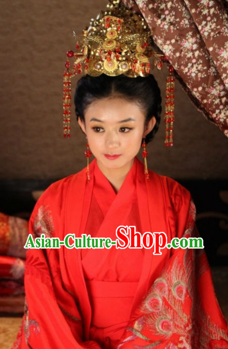 Chinese Traditional Bridal Hair Accessories for Women