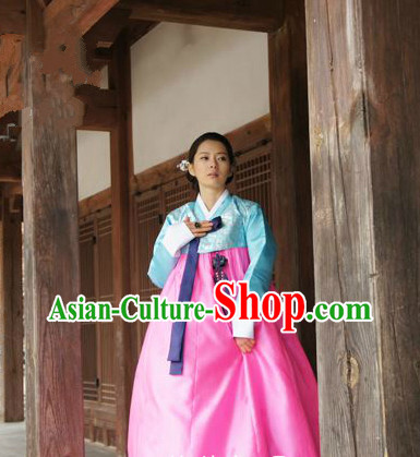 Korean Traditional Hanbok Formal Dresses Special Occasion Dresses for Girls