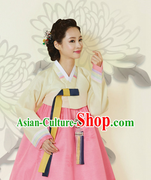 Korean Traditional Hanbok Formal Dresses Special Occasion Dresses for Woman