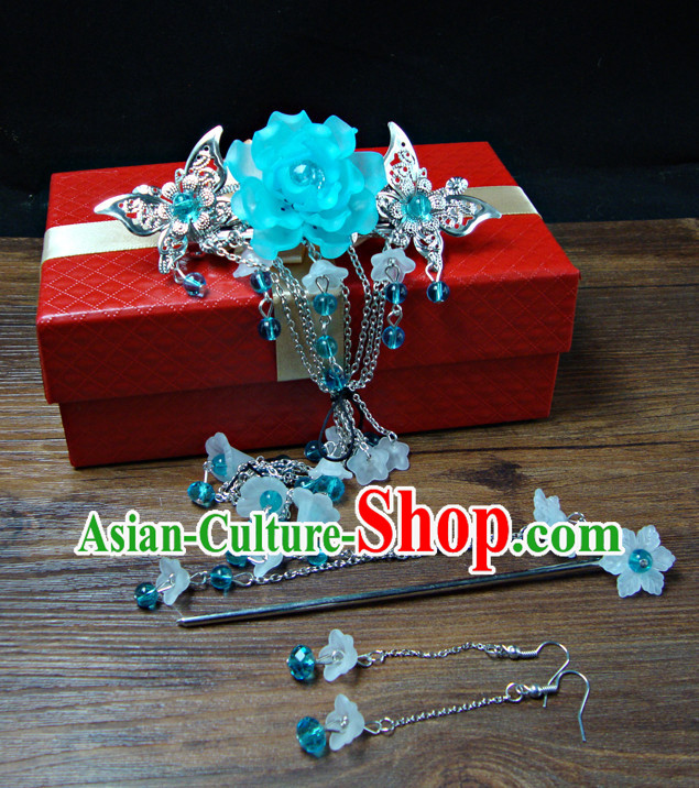 Chinese Traditional Lady Hair Jewelry