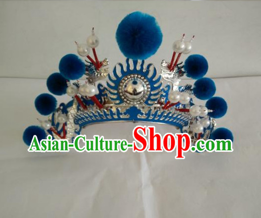 Asian Fashion Oriental Beijing Opera Mu Guiying Hat Headwear