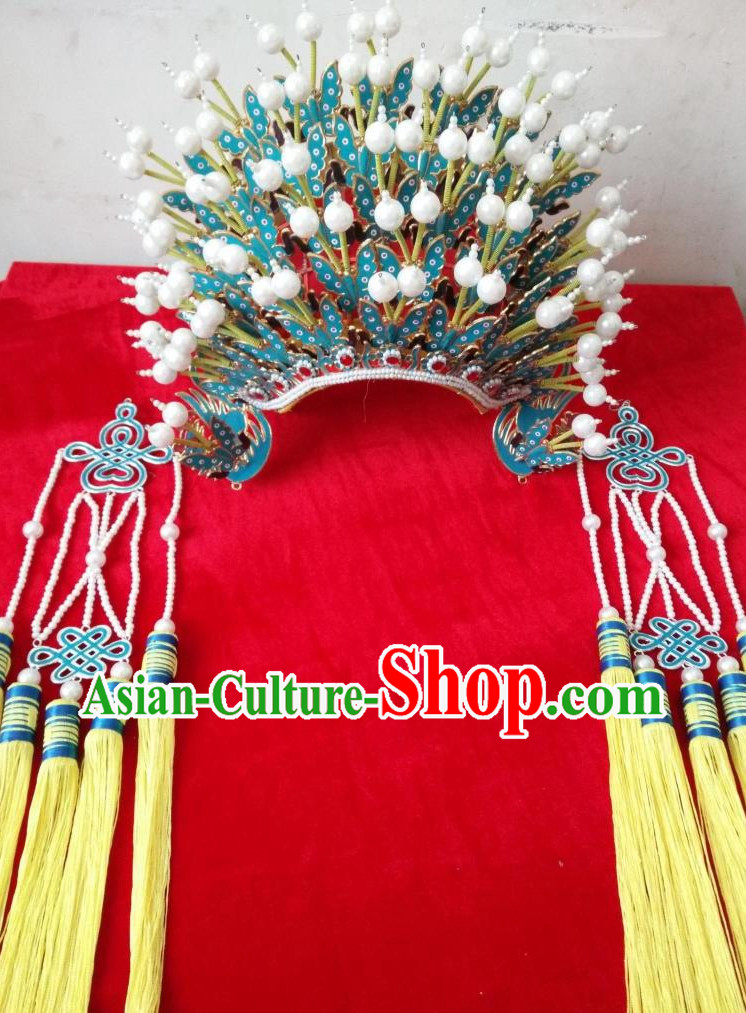 Oriental Chinese Traditional Phoenix Coronet Hat