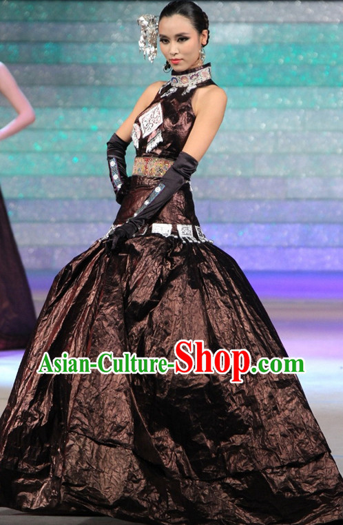 Chinese Miao Skirt Complete Set for Women