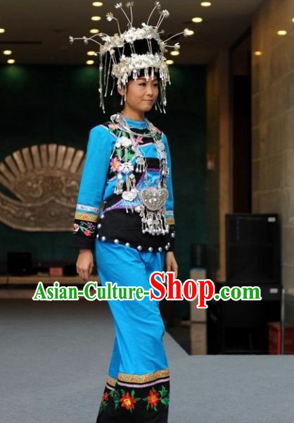 Oriental Clothing Chinese Traditional Ethnic Clothing in China