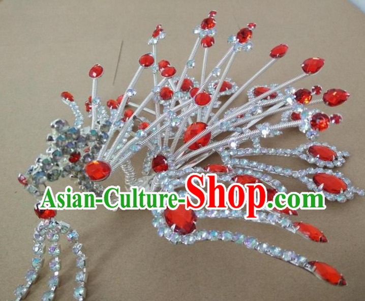 Chinese Traditional Opera Hua Dan Phoenix Hair Jewelry