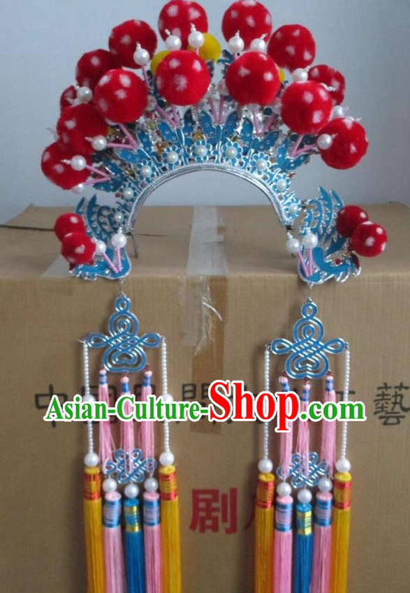 Chinese Traditional Opera Hua Dan Phoenix Crown