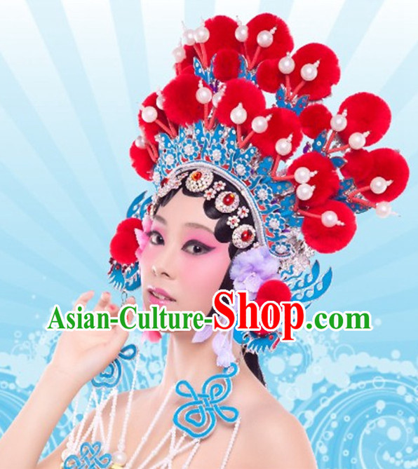 Chinese Traditional Opera Hua Dan Phoenix Hat