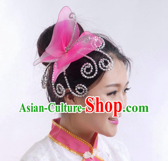 Chinese Classical Group Dance Dance Flower Headdress
