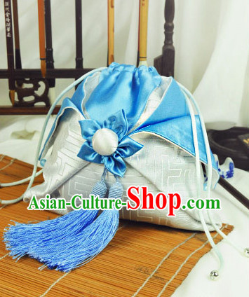 Chinese Hanfu Accessories Traditional Handmade Designer Hand Bags Handbags
