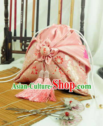 Asian Fashion Chinese Classical Hanfu Accessories Traditional Handmade Designer Hand Bags Handbags