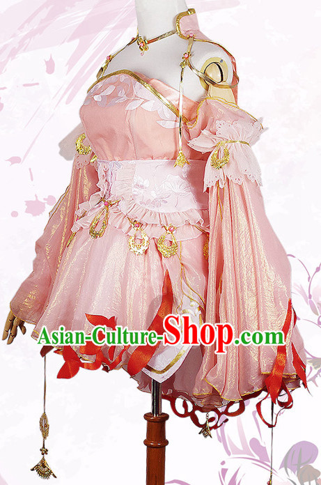 Asian Chinese Fashion Women Princess Halloween Costumes Cosplay Costumes Plus Size Cosplay Costumes