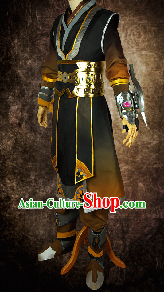 Asian Chinese Fashion Swordman Halloween Costumes Cosplay Costumes Plus Size Cosplay Costumes