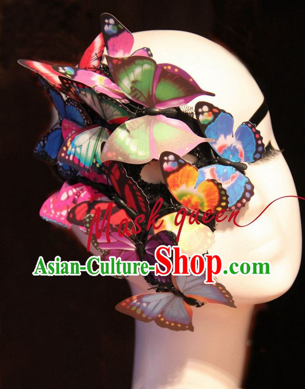 Butterfly Mask Hair Fascinators Hair Slides Headpieces Hair Ornaments