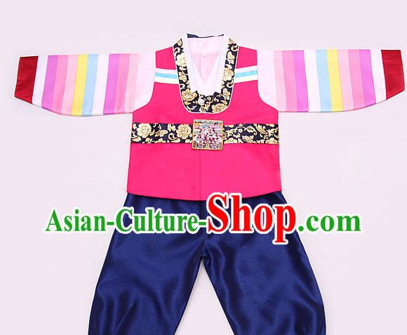 Korean Traditional Dress Hanbok Formal Dresses Special Occasion Dresses for Kids