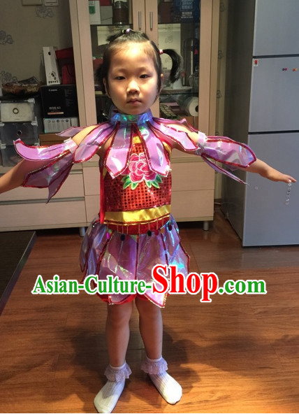 Chinese Kids Dance Costumes