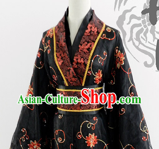 Asia Fashion Ancient China Culture Chinese Hanfu Dress for Men