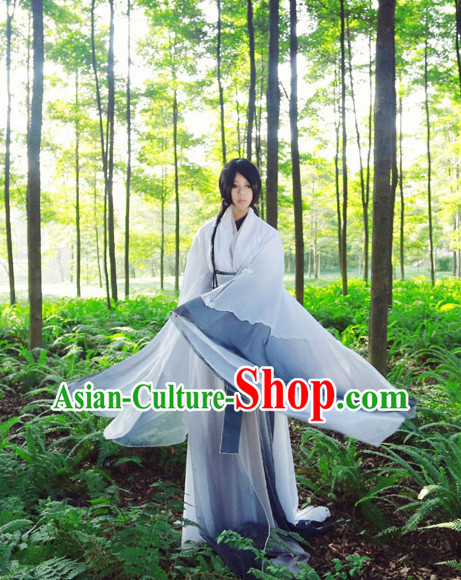 Asia Fashion Ancient China Culture Chinese Hanfu Clothing for Men