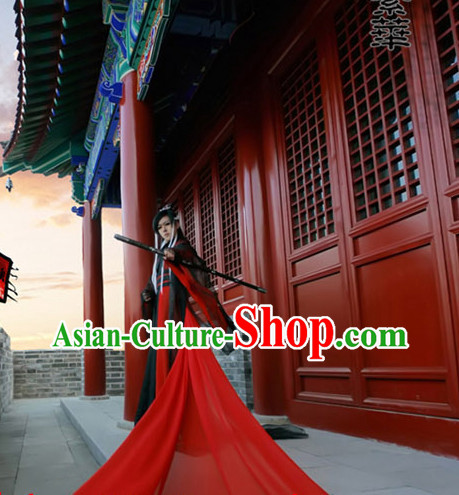 Asia Fashion Ancient China Culture Chinese Wide Sleeves Kimono Dress