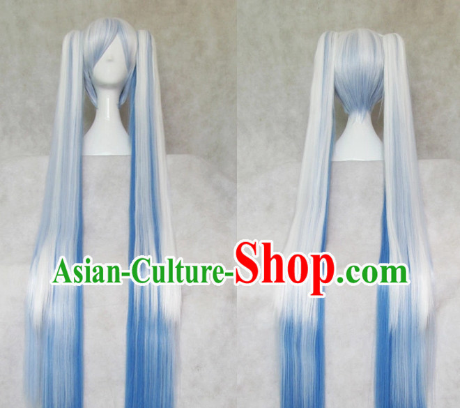 Traditional Chinese Cosplay Wigs Chinese Ancient Costume Long Wigs