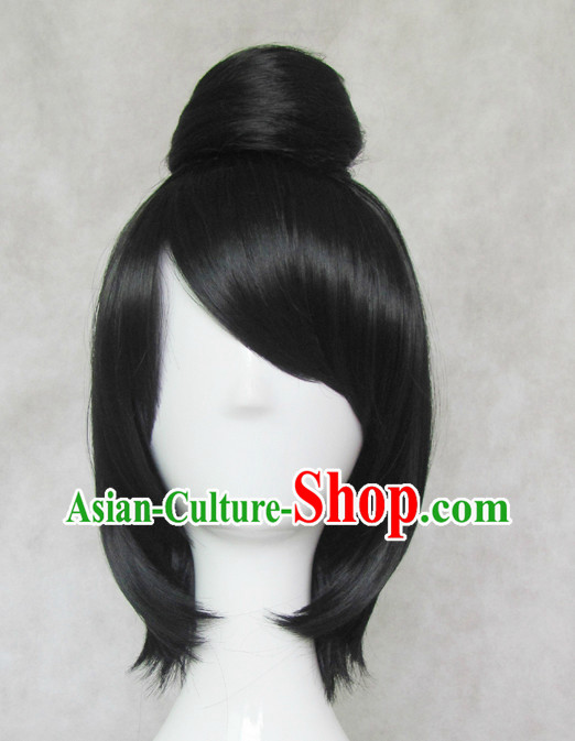 Traditional Chinese Cosplay Wigs Chinese Ancient Costume Wig