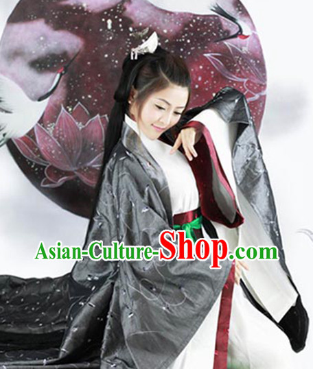 Asian Fashion Chinese Ancient Hanfu Dress