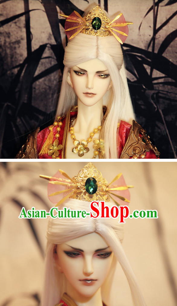 Chinese Traditional Prince Coronet Hair Accessories