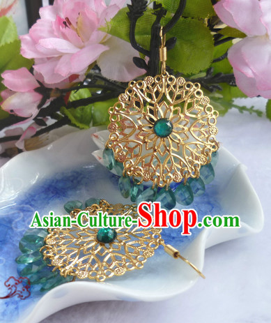 Chinese Traditional Female Handmade Earrings