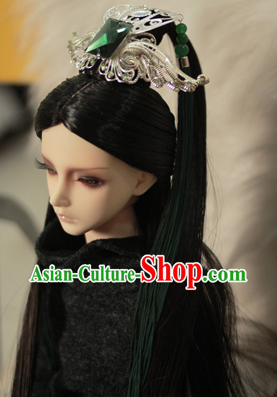 Chinese Traditional Prince Costumes Hair Jewelry