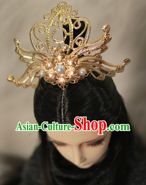 Chinese Traditional Emperor Coronet